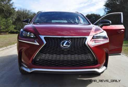 2015 Lexus NX200t F Sport Review 71