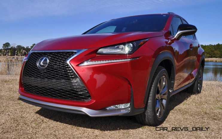 2015 Lexus NX200t F Sport Review 91