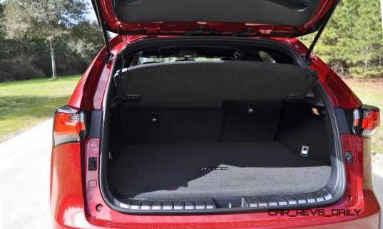 2015 Lexus NX200t Interior 12