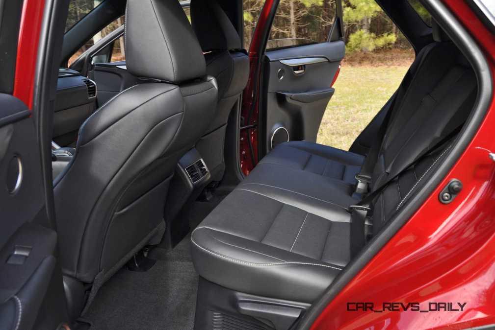 2015 Lexus NX200t Interior 23