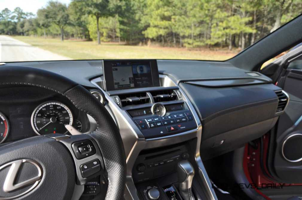 2015 Lexus NX200t Interior 5