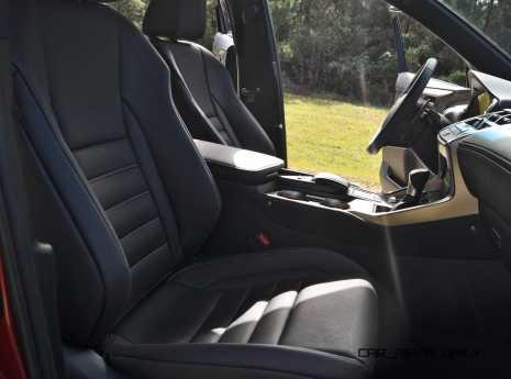 2015 Lexus NX200t Interior 8