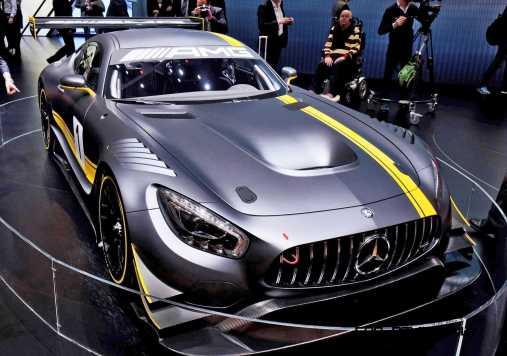 2015 Mercedes-AMG GT3 1