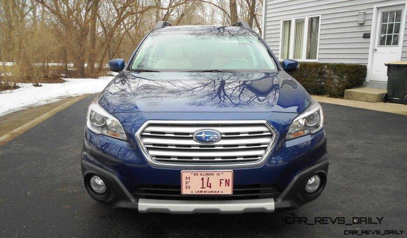 2015 Subaru Outback Limited 4