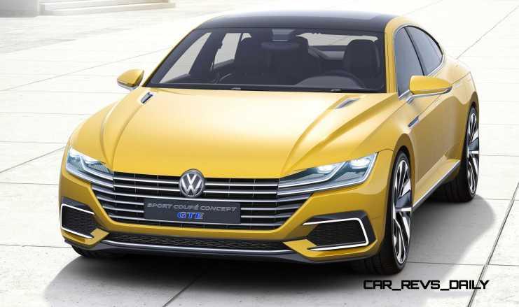 2015 Volkswagen Sport Coupe Concept GTE 9