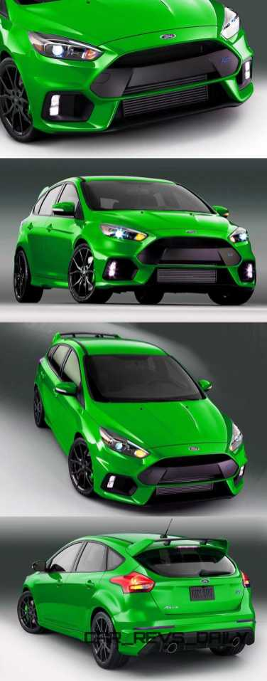 2016 Ford Focus RS Digital Colorizer 12