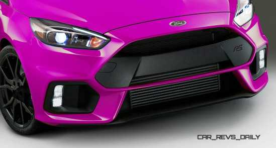 2016 Ford Focus RS - Digital Colorizer 14