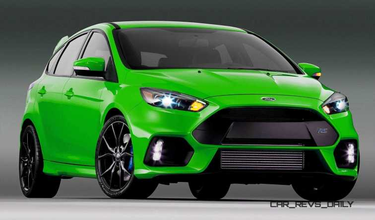 2016 Ford Focus RS - Digital Colorizer 31