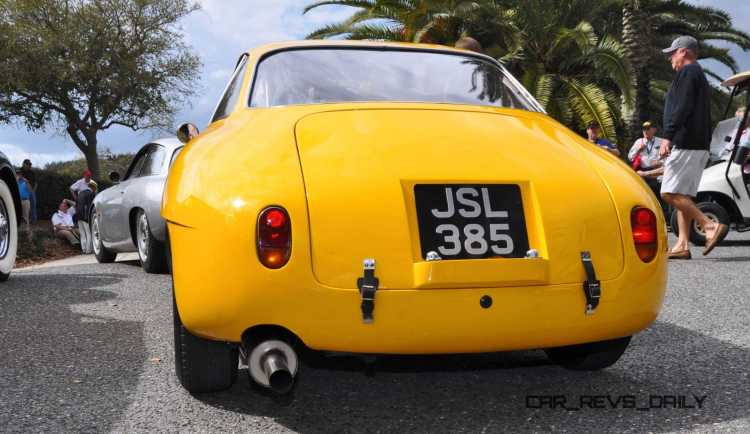 Amelia 2015 Highlights - 1962 Alfa Romeo Giulietta SZ 15