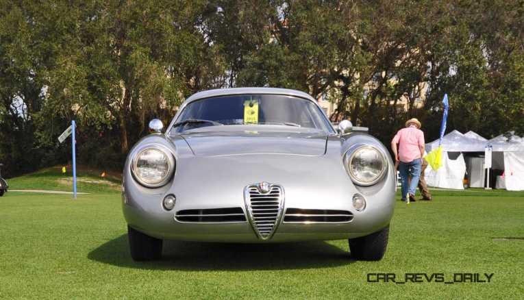 Amelia 2015 Highlights - 1962 Alfa Romeo Giulietta SZ 32