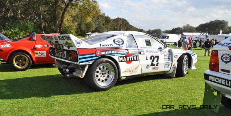 Amelia Island 2015 - 1983 Lancia 037 20