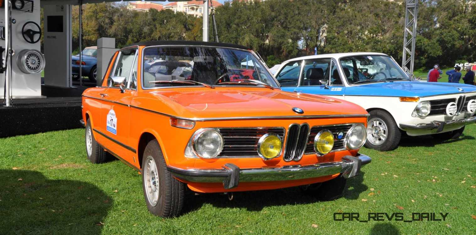 Amelia Island 2015 - BMW Brings 507, M1, CSL and tii To Join 2015 X5 M and 2015 650i M Sport 24