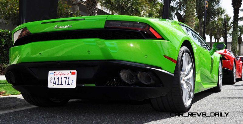 Amelia Island - 2015 Lanborghini HURACAN Verde Mantis in 50 New Photos 44