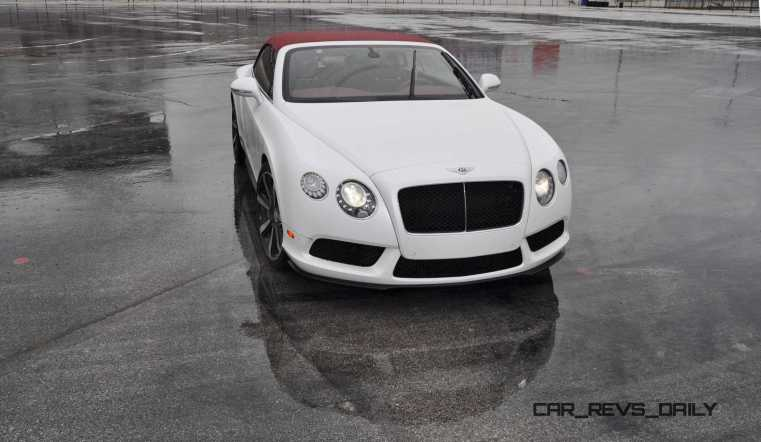 First Drive Review - 2015 Bentley Continental GT V8S - White Satin 22