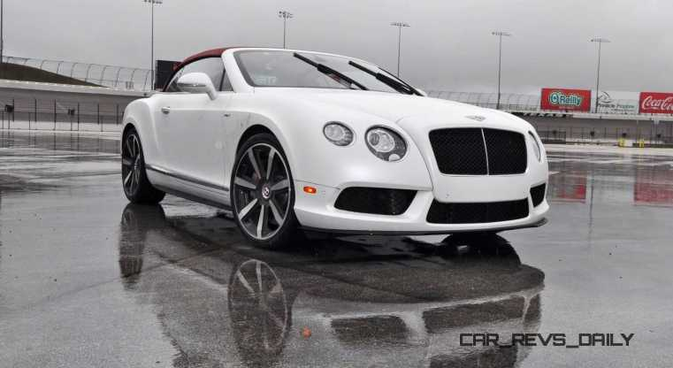 First Drive Review - 2015 Bentley Continental GT V8S - White Satin 32