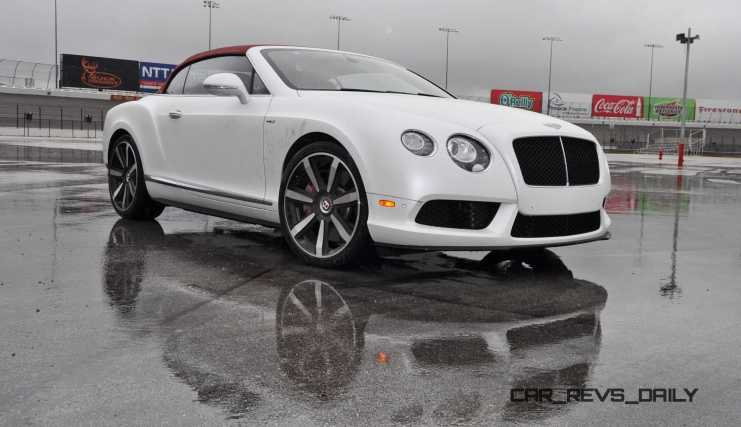 First Drive Review - 2015 Bentley Continental GT V8S - White Satin 33