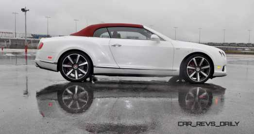 First Drive Review - 2015 Bentley Continental GT V8S - White Satin 38