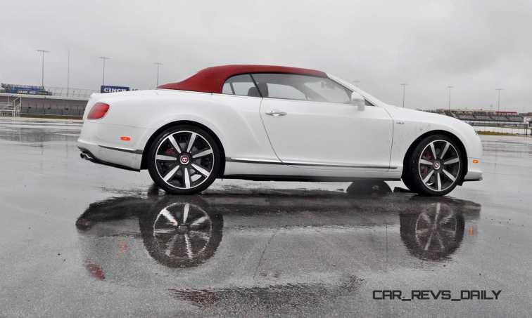 First Drive Review - 2015 Bentley Continental GT V8S - White Satin 40