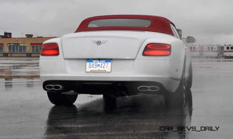 First Drive Review - 2015 Bentley Continental GT V8S - White Satin 50