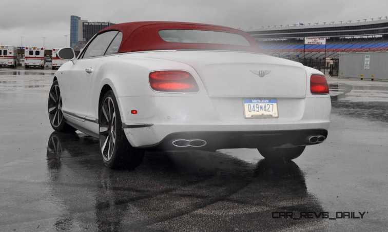 First Drive Review - 2015 Bentley Continental GT V8S - White Satin 51