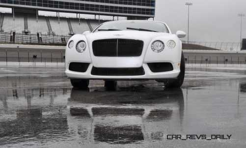 First Drive Review - 2015 Bentley Continental GT V8S - White Satin 64