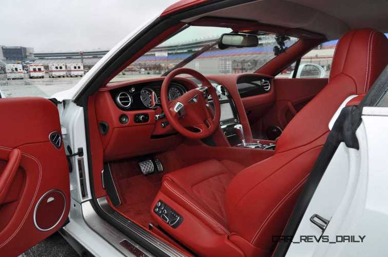First Drive Review - 2015 Bentley Continental GT V8S - White Satin 67