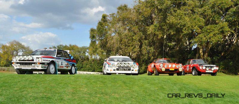 LANCIA Rally Reunion - Stratos, Integrale, Fulvia and 037 Together for Amelia 2015 13