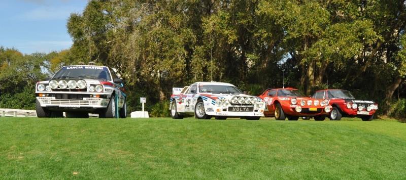 LANCIA Rally Reunion - Stratos, Integrale, Fulvia and 037 Together for Amelia 2015 19