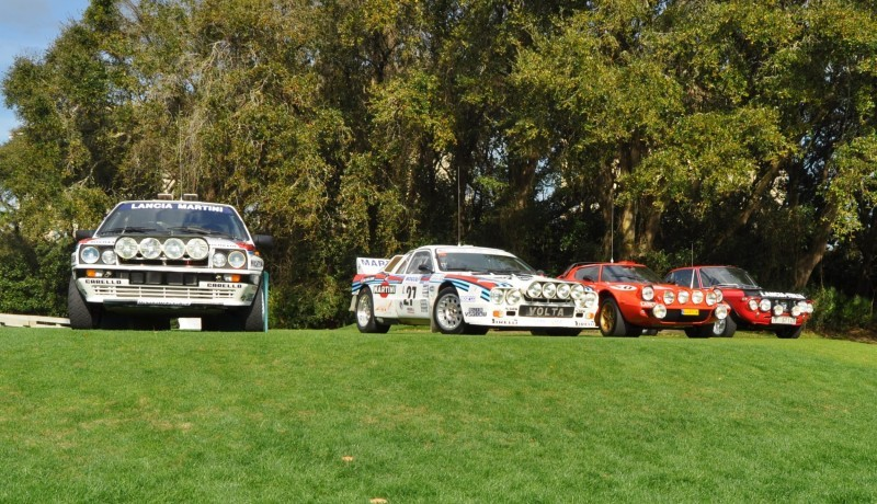 LANCIA Rally Reunion - Stratos, Integrale, Fulvia and 037 Together for Amelia 2015 22