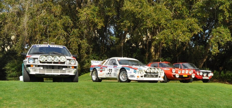LANCIA Rally Reunion - Stratos, Integrale, Fulvia and 037 Together for Amelia 2015 24
