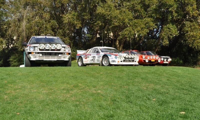 LANCIA Rally Reunion - Stratos, Integrale, Fulvia and 037 Together for Amelia 2015 34