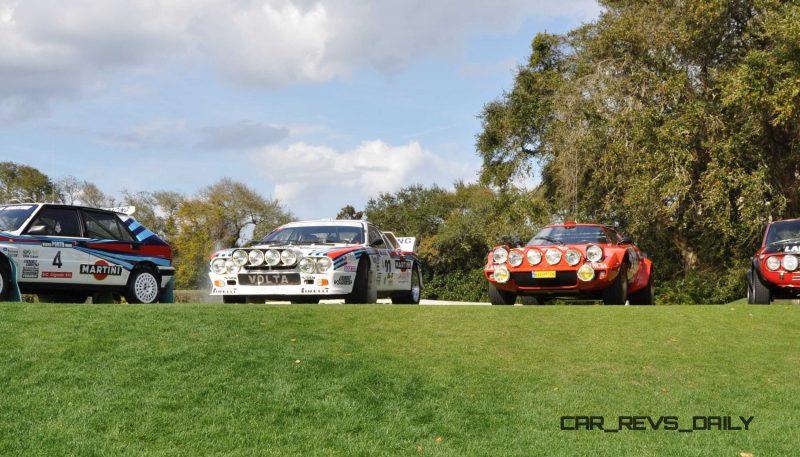 LANCIA Rally Reunion - Stratos, Integrale, Fulvia and 037 Together for Amelia 2015 41