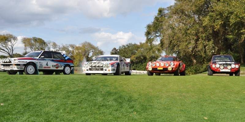 LANCIA Rally Reunion - Stratos, Integrale, Fulvia and 037 Together for Amelia 2015 42