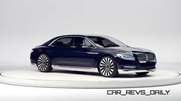 Lincoln Continental Concept 20