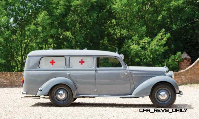 1952 Mercedes-Benz 170SV Ambulance 5