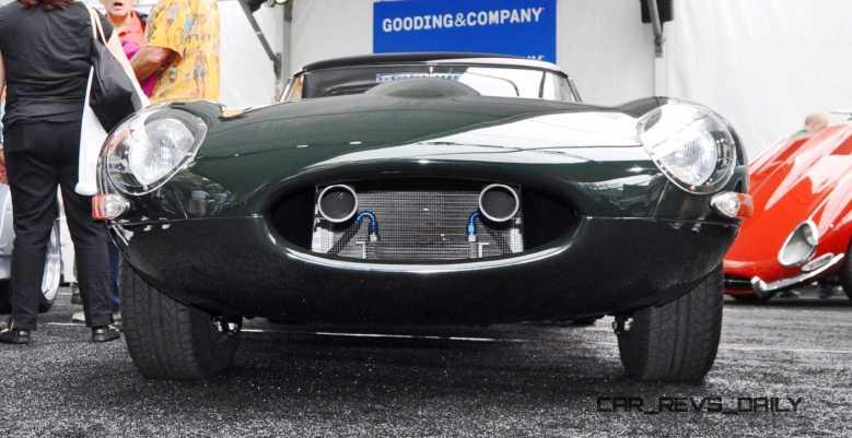 1961 Jaguar E-Type Series I Lightweight Replica 4