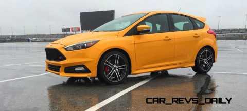 2015 Ford Focus ST Tangerine Scream ST2 Pack 54