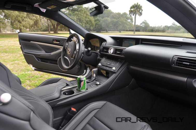 2015 Lexus RC350 F Sport Interior 1