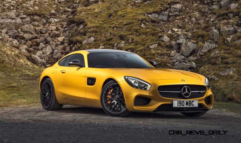 2015 Mercedes-AMG GT S Yellow 1