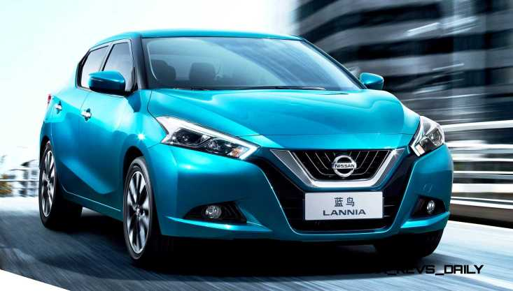 2015 Nissan Lannia Revealed in Shanghai With Funky Rump 1 copy