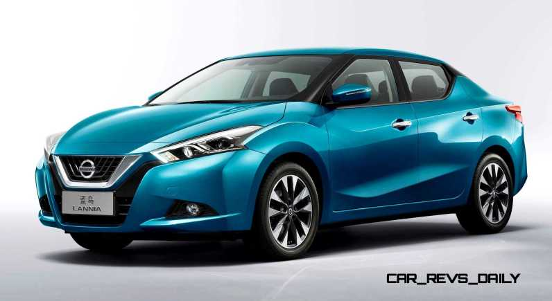 2015 Nissan Lannia Revealed in Shanghai With Funky Rump 4 copy