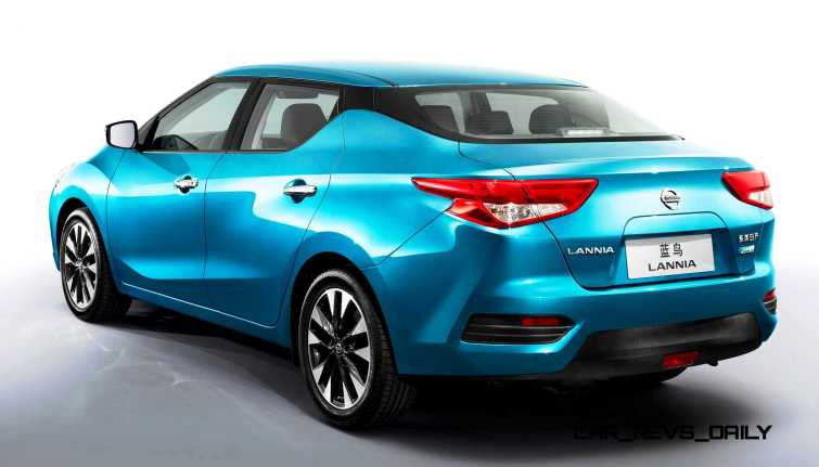 2015 Nissan Lannia Revealed in Shanghai With Funky Rump 6 copy