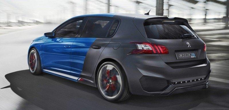 2015 Peugeot 308R HYbrid Concept 5