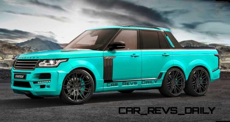Digital Renderings - StarTech Range Rover 6x6 Long-Box Pickup Truck - 2 Angles + 30 Colors 19