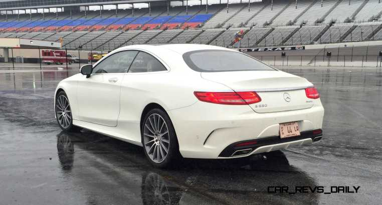 First Drive Review - 2015 Mercedes-Benz S550 Coupe 19
