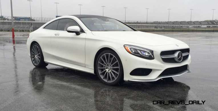 First Drive Review - 2015 Mercedes-Benz S550 Coupe 6