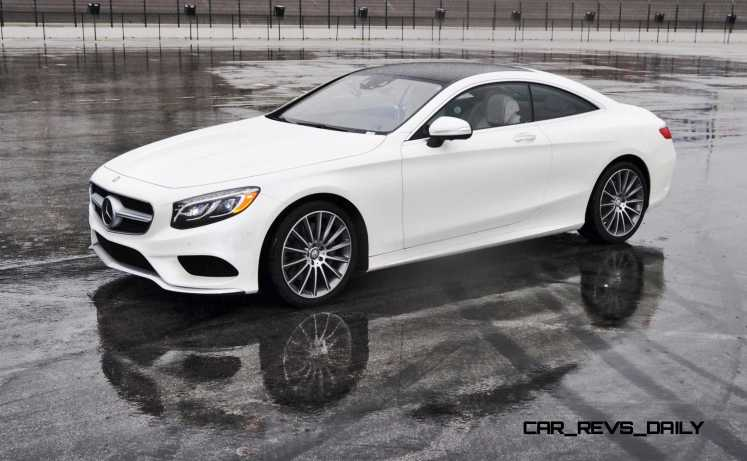 First Drive Review - 2015 Mercedes-Benz S550 Coupe 65