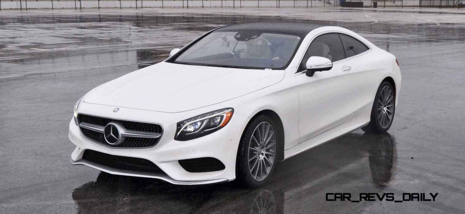 First Drive Review - 2015 Mercedes-Benz S550 Coupe 66