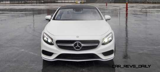 First Drive Review - 2015 Mercedes-Benz S550 Coupe 70