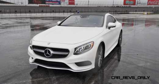 First Drive Review - 2015 Mercedes-Benz S550 Coupe 86